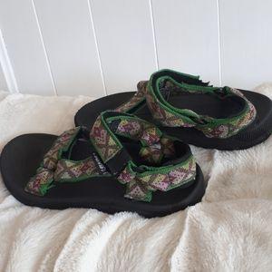 Teva sandals. Girls size 2
